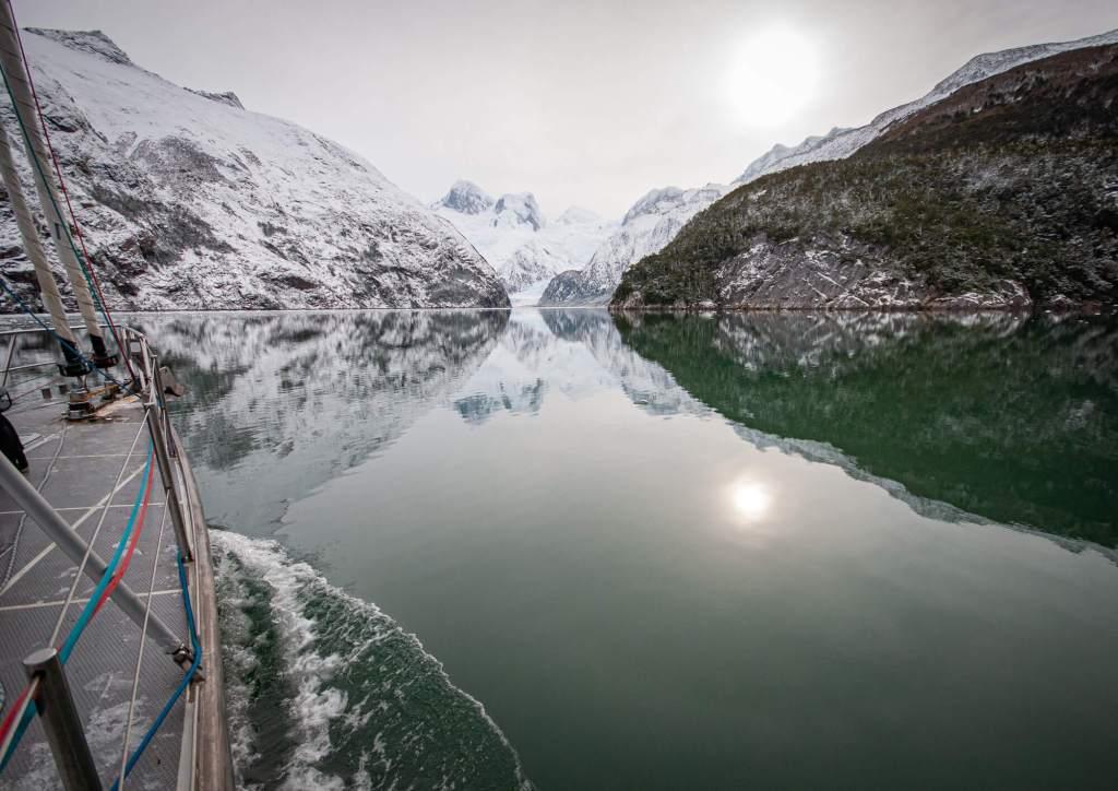 Calm Water Seno Pia Beagle Channel Chile
