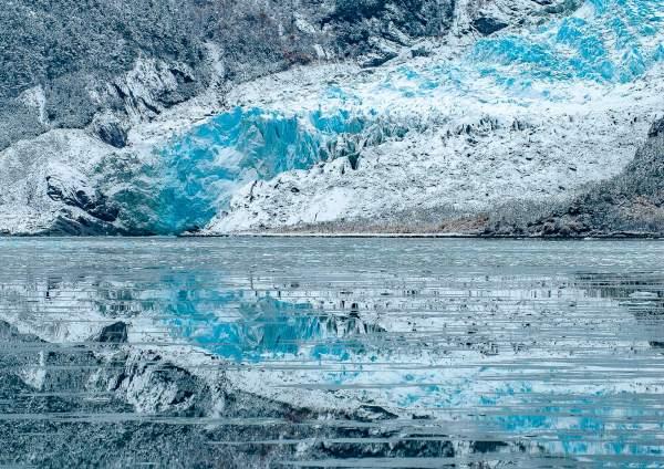 Seno Pia Glacier Beagle Channel Chile