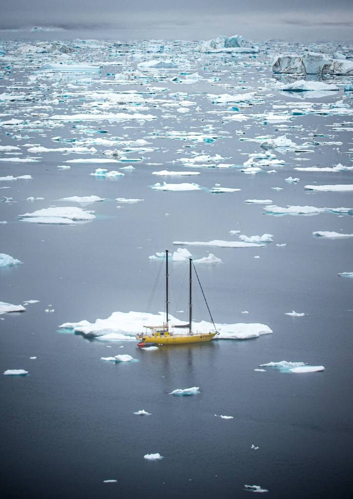 Sermilik Icebergs Horizon