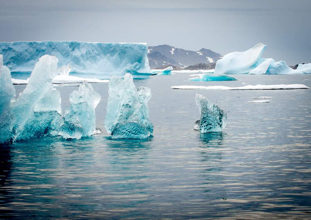 East Greenland Ice Sculpture