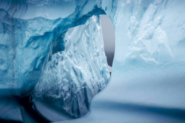 East Greenland Mikkis Fjord Ice Arch