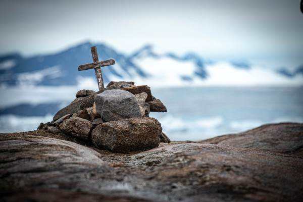 East Greenland Rock Grave
