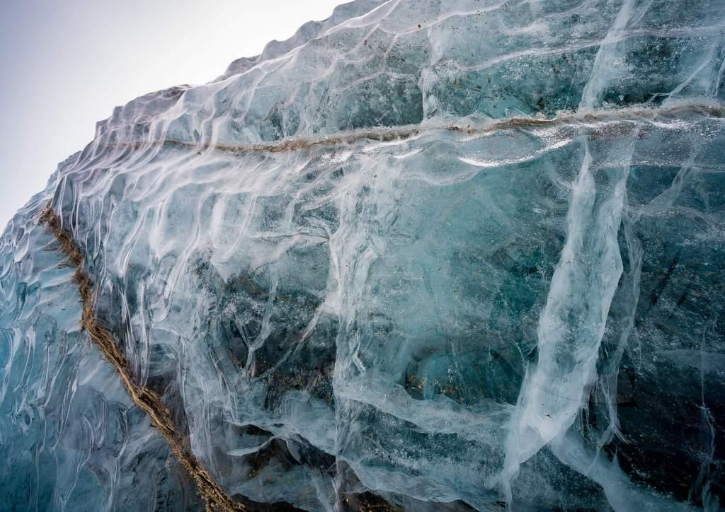 Longyearbyen Glacier Ice