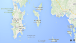 Google Map of Phuket Thailand