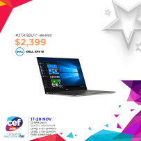 Dell XPS 15 | Consumer Electronics Fair 2016 | 17-20 Nov 2016 | 12-9pm | Suntec Singapore