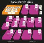 Cars @ EXPO Floor Plan | Singapore Expo Hall 4 | 7-8 April 2018
