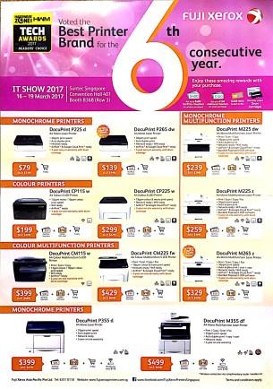 Fuji Xerox Brochure   IT SHOW 2017   Pg1