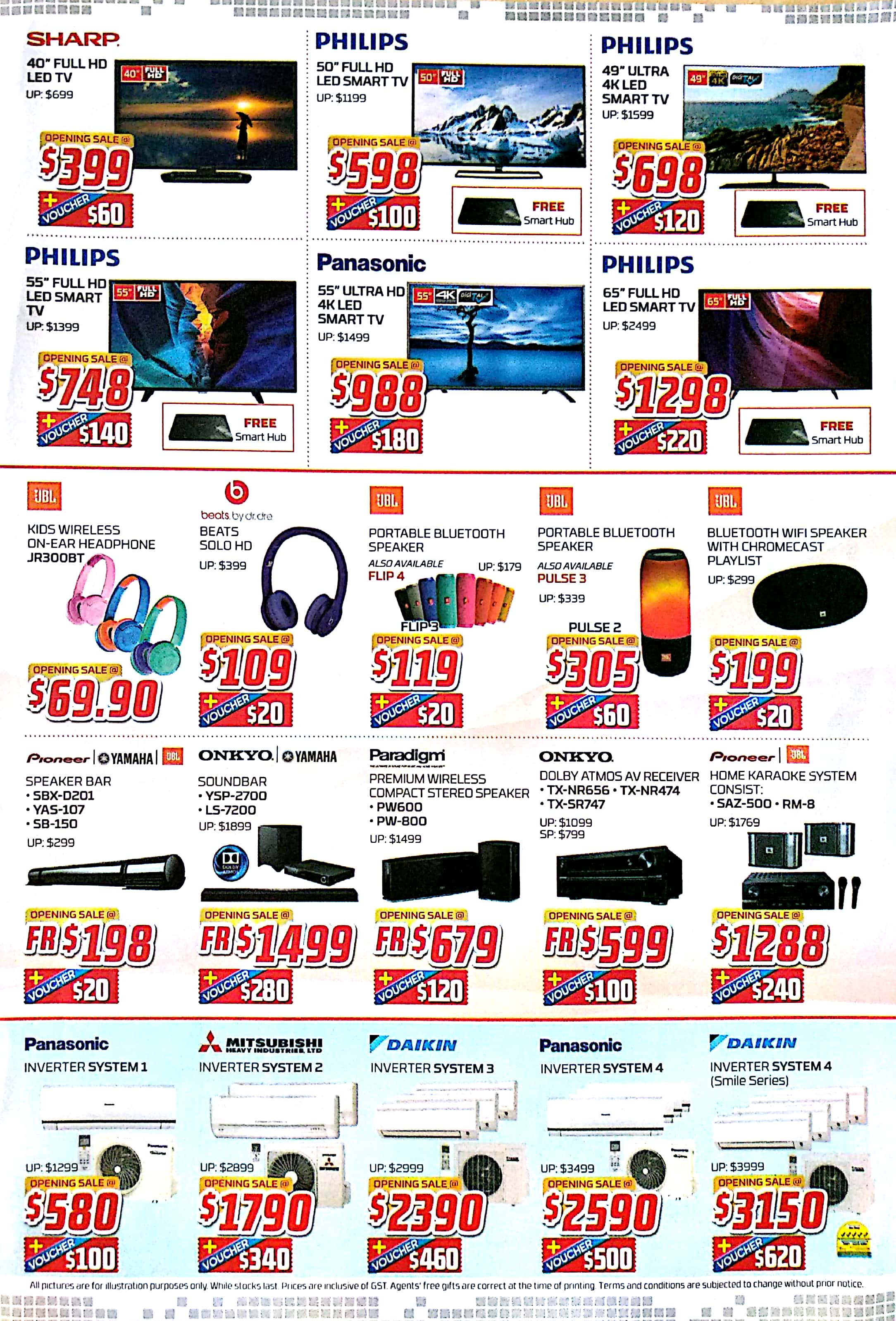 1st QR Cashless Elecrtronics Outlet Opening Sale   25 Nov - 4 Dec 2017   Audio House   Brochure pg3