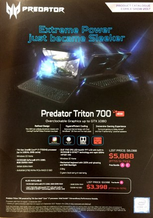 Acer Predator Deals @ COMEX 2017 | pg1