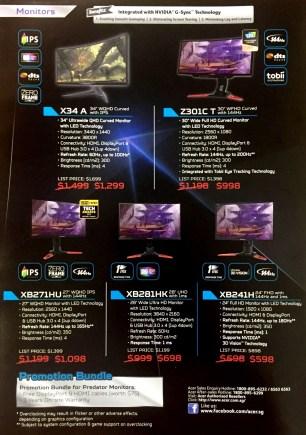 Acer Predator Deals @ COMEX 2017 | pg3