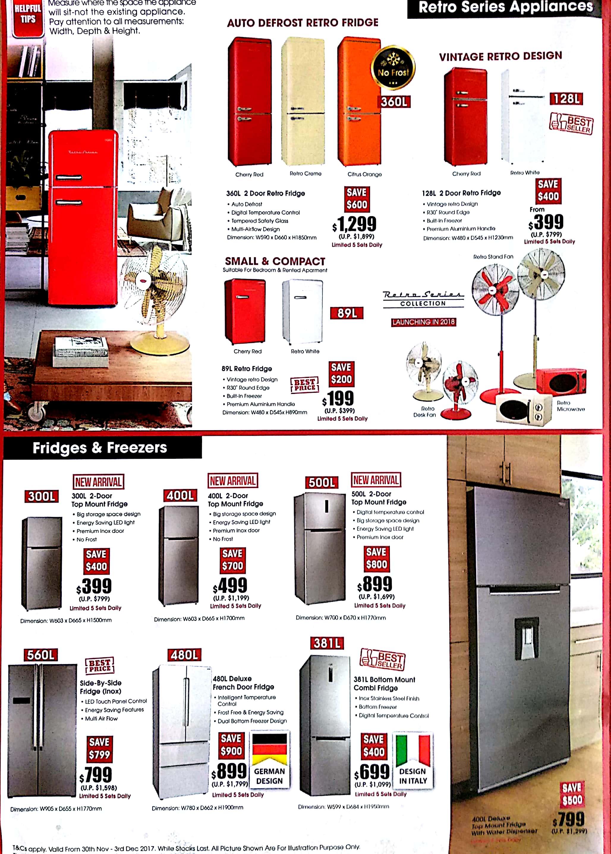 EuropAce Warehouse Sale   30 Nov - 3 Dec 2017   Brochure pg2