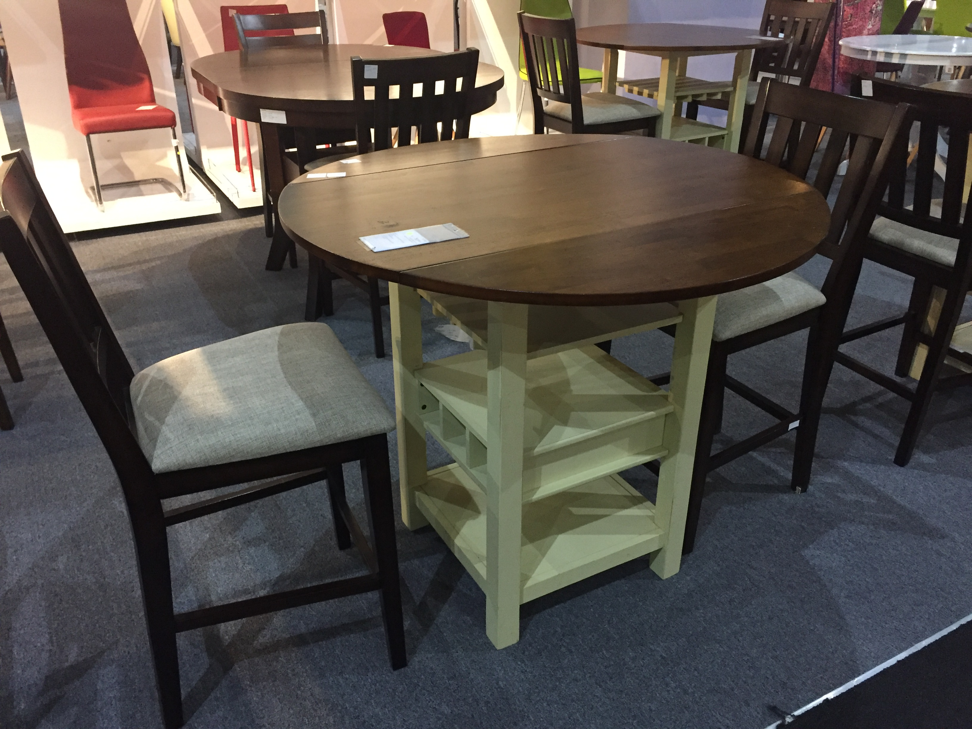 This wine rack table beckons