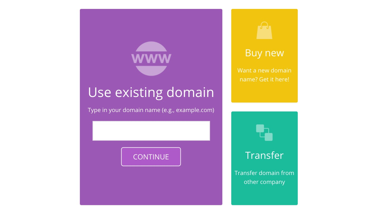 Hostinger Web Hosting Use Existing Domain