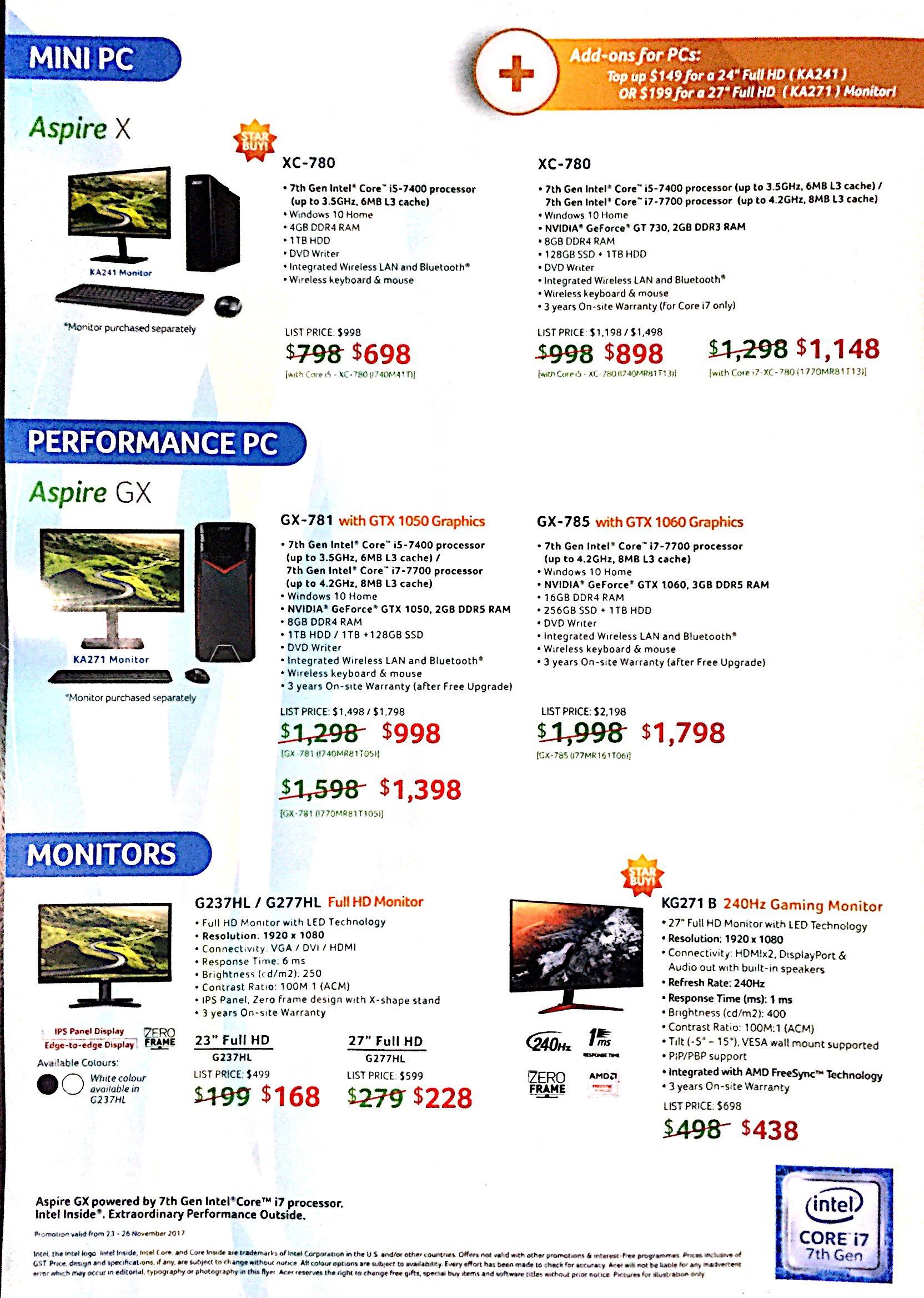Acer Deals @ SITEX 2017 | Brochure pg8