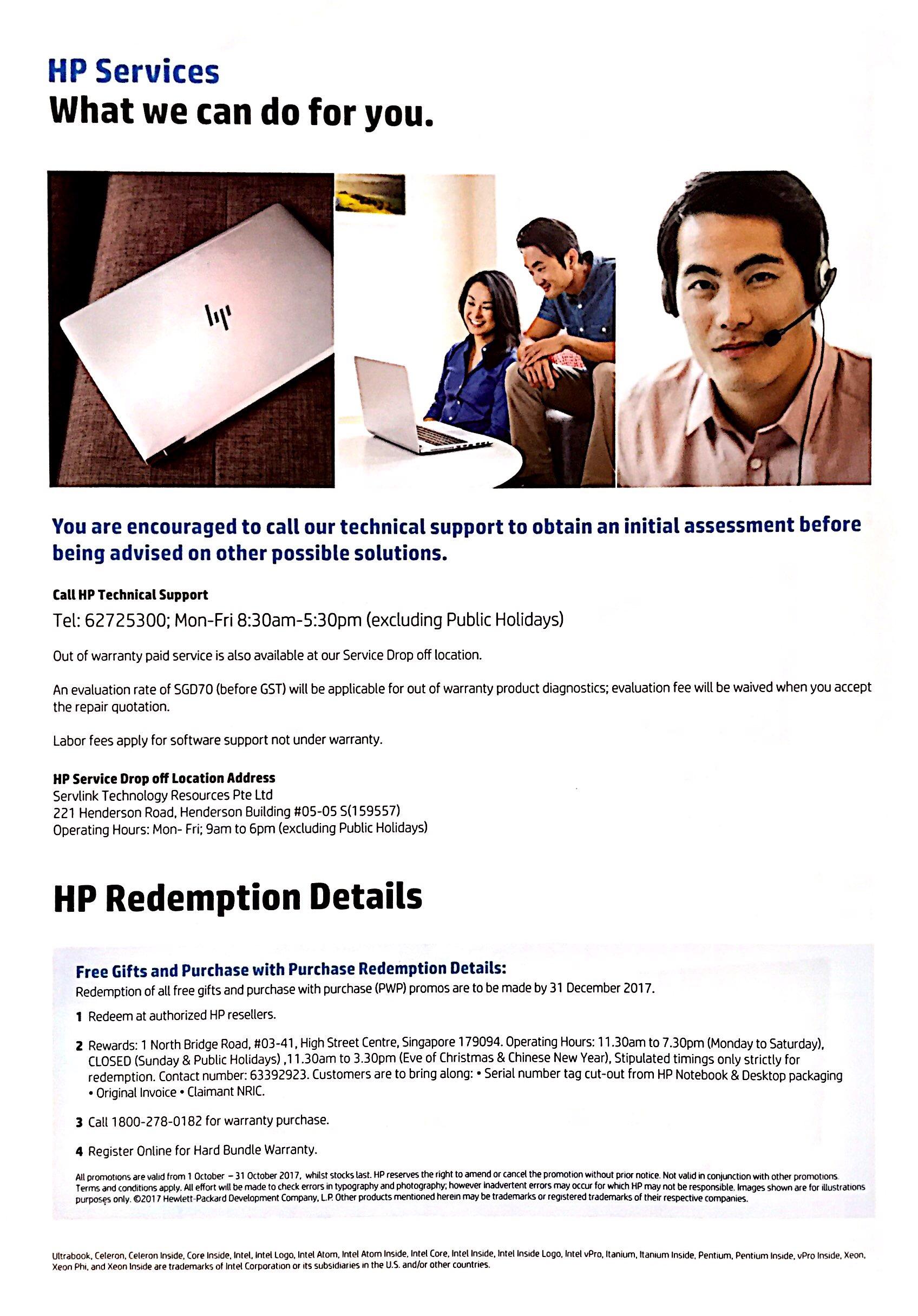 HP Deals @ CEF Show 2017 | Brochure pg6