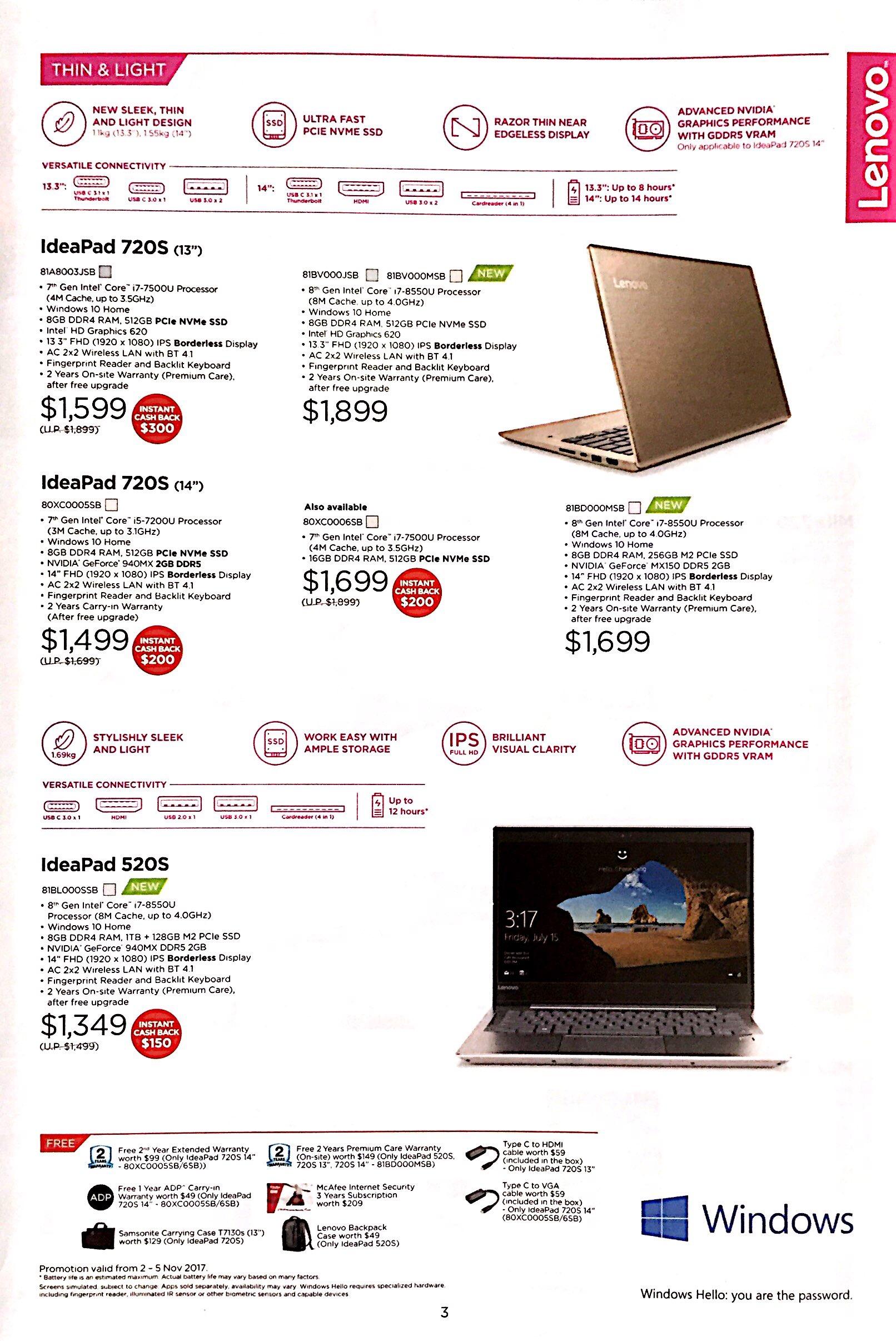 Lenovo Deals @ CEF Show 2017   Brochure pg3