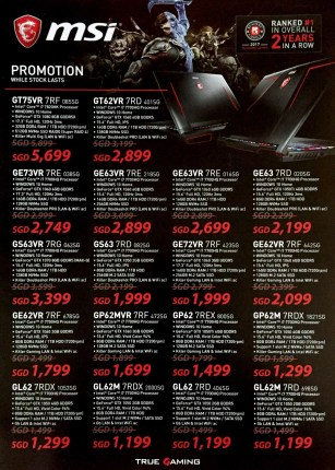 MSI Deals @ CEF Show 2017 | Brochure pg2