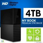 WD My Book 4TB USB 3.0 Black Desktop Hard Drive