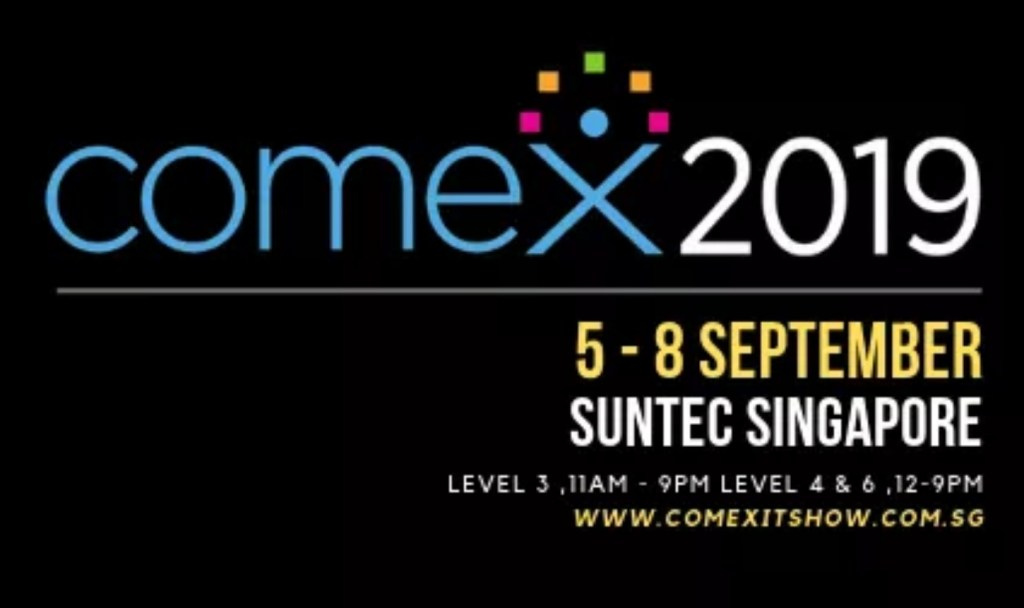 COMEX 2019 | 5-8 Sep | Suntec | Computer and IT Fair in