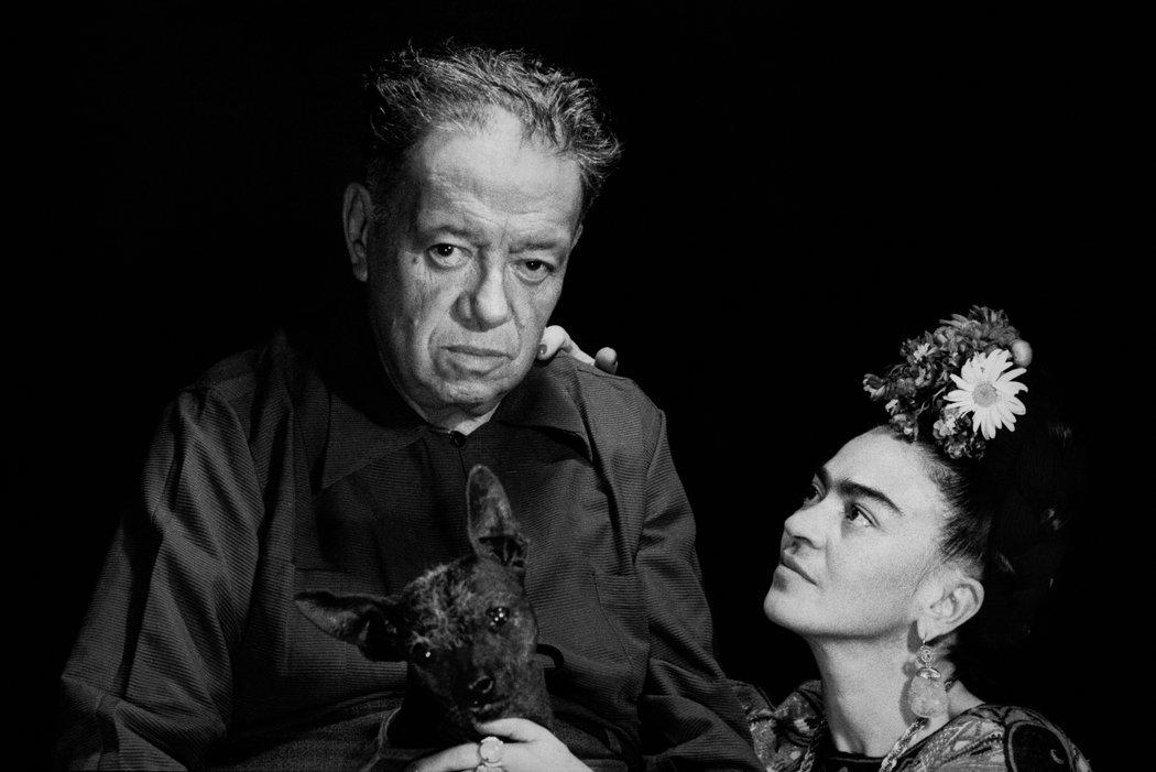 Frida Kahlo y Diego Rivera: amor y psique capturados en imágenes