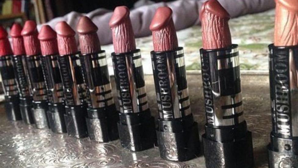 Los labiales con forma de pene son furor en Instagram | TN.com.ar