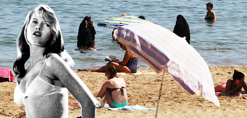 Brigitte Bardot vs. the Burkini