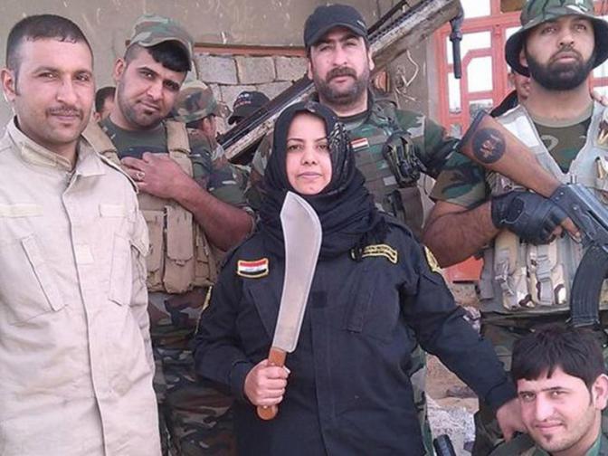 Una iraquí cocina cabezas de terroristas del ISIS para vengar a su familia