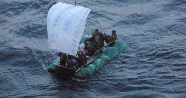 Vuelven balseros cubanos a grabar su travesía en alta mar – Vídeo en CiberCuba