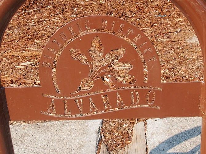 Historic District Alvarado park signs
