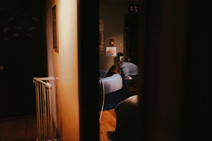 midwife asleep through at home birth