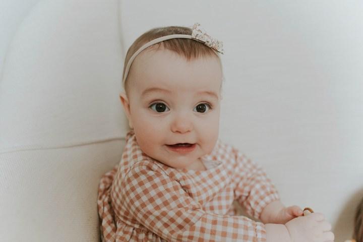 Half a year old | Adri De La Cruz Batavia IL, family photographer