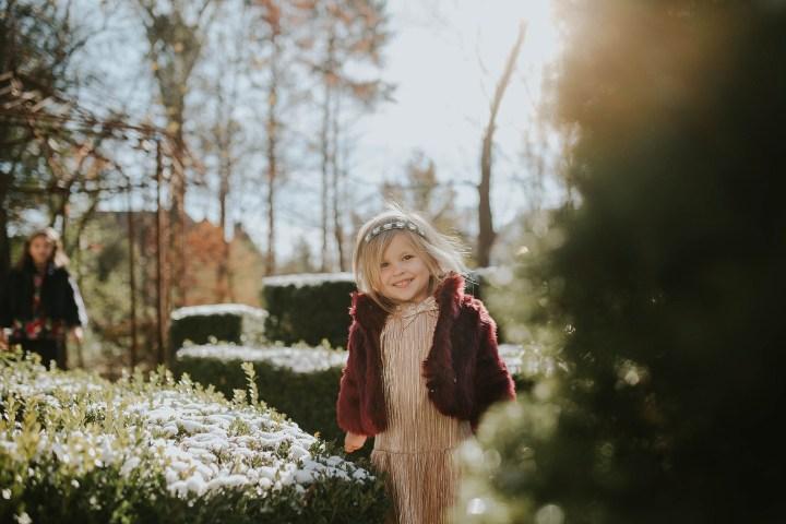 Winter Magic at home Orland Park, IL | Adri De La Cruz chicago family photographer