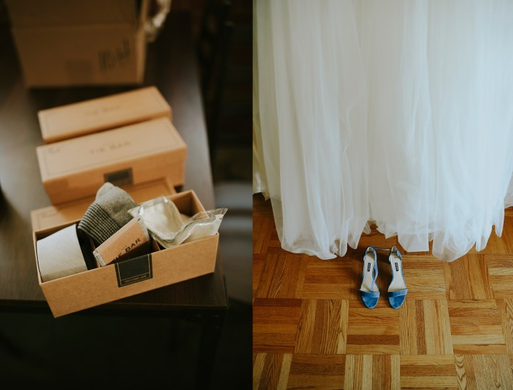 BLUE WEDDING SHOES & TIES FROM THE TIE BAR FOR THE GUYS