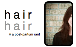 post partum hair loss