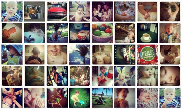april instagram collage