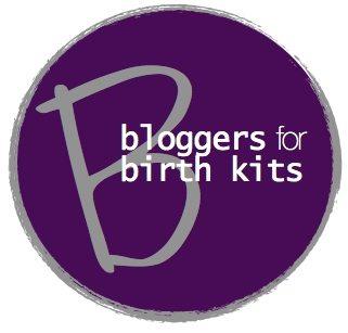 bloggers for birth kits logo