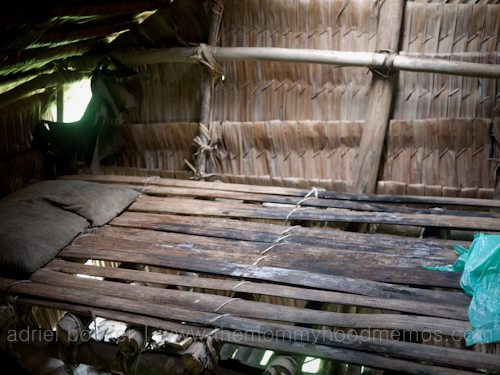 Delivery room bed of Bamio, Western Province, Papua New Guinea.