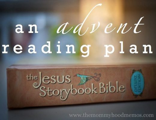 Reading plan for celebrating Advent with the Jesus Storybook Bible.