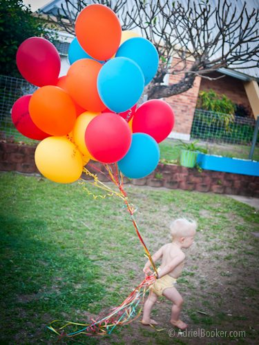Judah's First Birthday Circus Party-44
