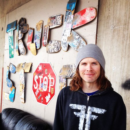 Andy McIntosh - changing lives at the Truck Stop Skate Park. Bend, Oregon.