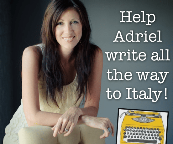 Help Adriel write all the way to Italy!