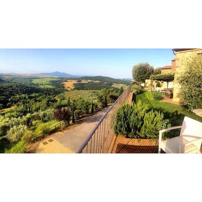 Under the Tuscan sun.
