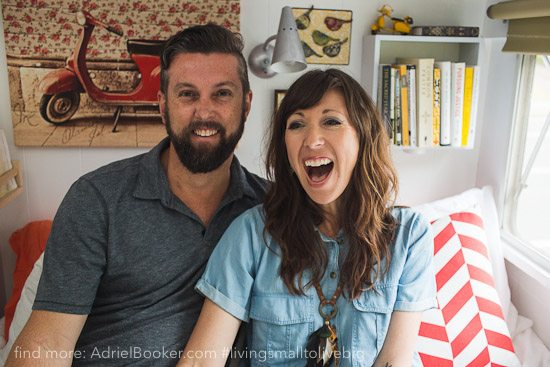 Tiny house, big love- life in our renovated vintage caravan — Adriel Booker-30