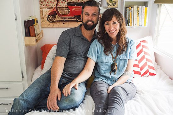 Tiny house, big love- life in our renovated vintage caravan — Adriel Booker-31