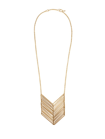 Christmas Gift Guide to Empower Women—Purpose Project Chevron Necklace