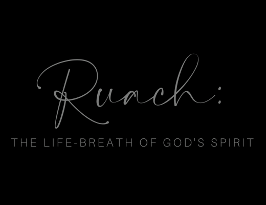 Ruach - breath of God