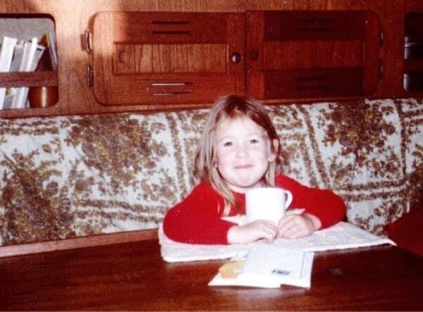Adriel Booker as a child