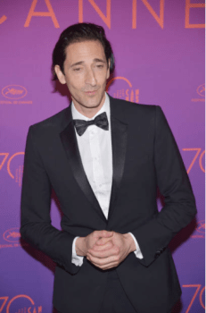 adrien brody cannes 2017 - 009