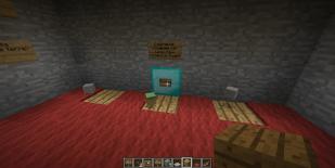 Version 1 du générateur de lancer de trois pièces dans Minecraft par Clément