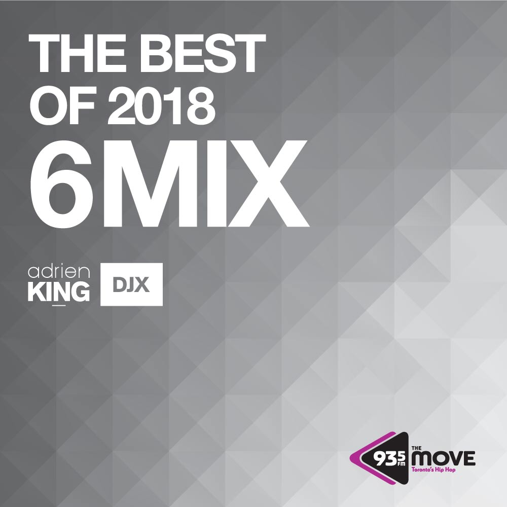 DJX 93.5 THE MOVE NEW-YEARS-EVE 6 MIX THE BEST OF 2018